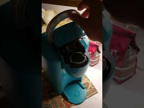 Quick fix Keurig K35 Compact No water, all lights on. Fixed in under a minute