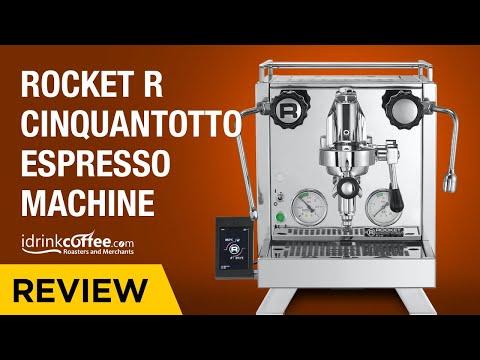 Rocket R58 Cinquantotto Espresso Machine Preview