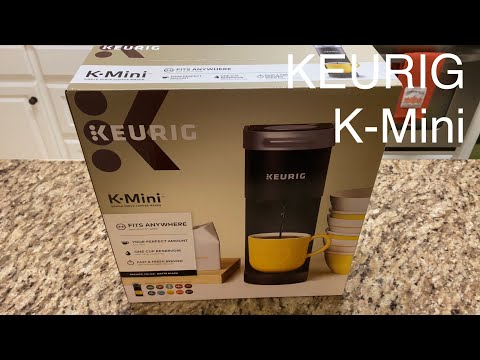 KEURIG K-Mini Unboxing and Review