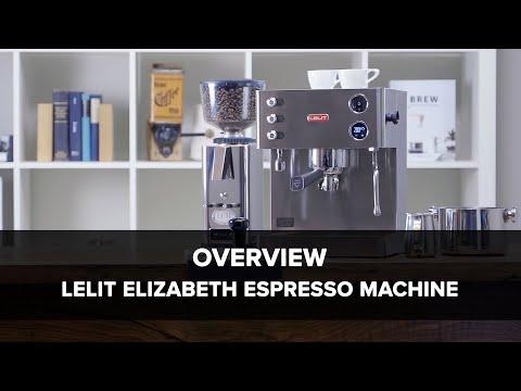 Lelit Elizabeth Espresso Machine Overview