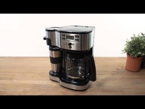 Unboxing af Hamilton Beach 49980-SC Kaffemaskine