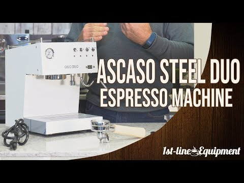 Detailed Overview: The Ascaso Steel Duo PID Dual Thermoblock Espresso Machine