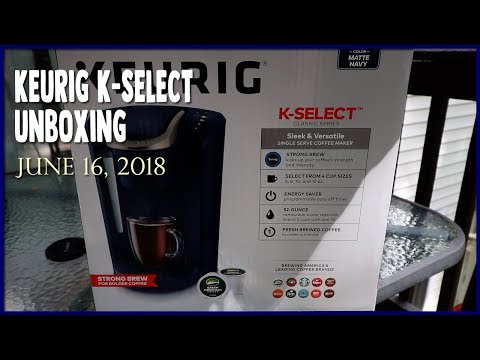 Keurig K-Select Unboxing