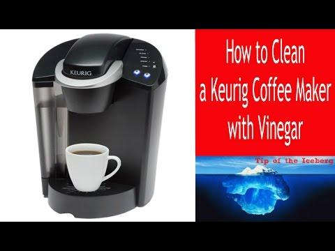 Descale Keurig Coffee Maker- Clean a Keurig with Vinegar!  – FIX SLOW BREW ☕