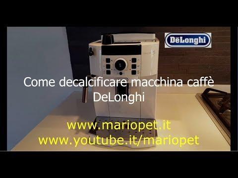 Come decalcificare macchina caffè DeLonghi Magnifica S