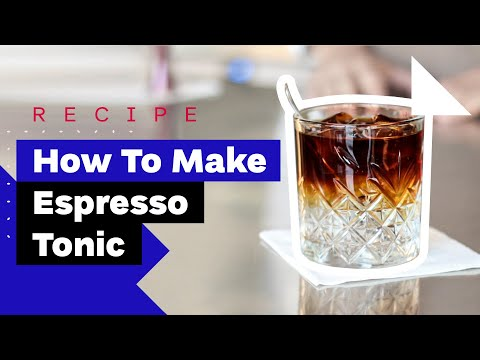 How To Make Espresso Tonic (and Cold-Brew Tonic Recipe)
