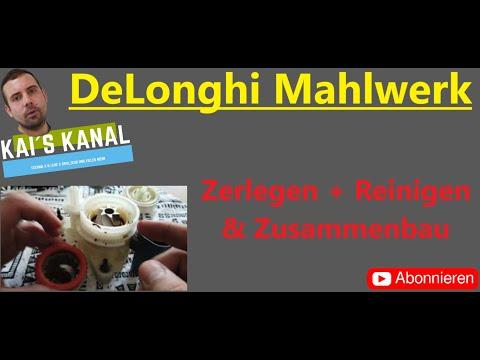 DeLonghi Mahlwerk zerlegen & reinigen| Schritt für Schritt– Einfach erklärt| Magnifica ECAM 22.110B