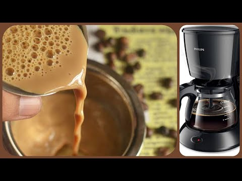 How to make the best traditional south Indian Filter Coffee? Philips Coffee Maker demo | Tamil