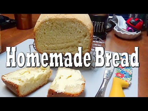 Recipe for Easy Homemade Bread in my Hamilton Beach Bread Maker Model #29881