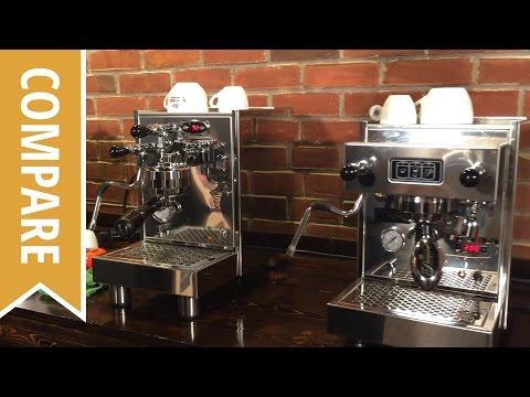 Compare: Bezzera BZ07 and Pasquini Livia G4 Espresso Machines