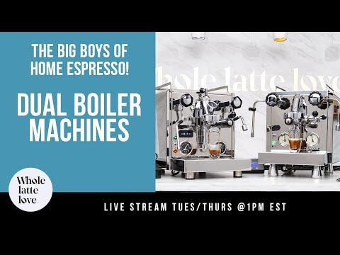 Dual Boiler Machines  – The Big Boys of Home Espresso!