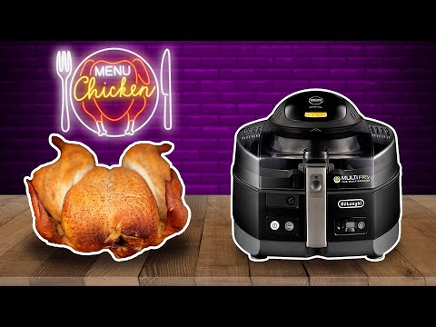 Air Fryer Juicy Whole Roast Chicken. DeLonghi MultiFry