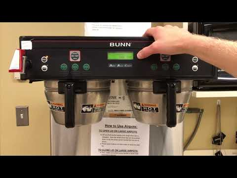 How to Calibrate a Commercial Bunn Coffee Maker