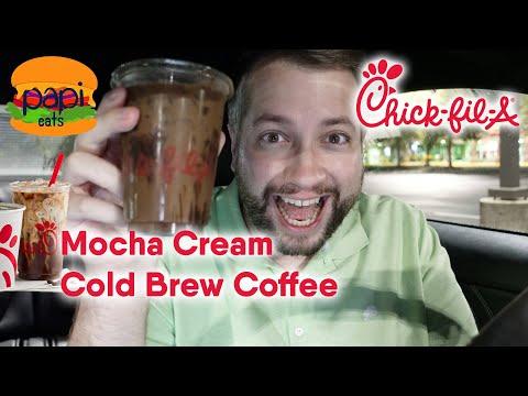Chick-fil-A Mocha Cream Cold Brew Coffee – Review