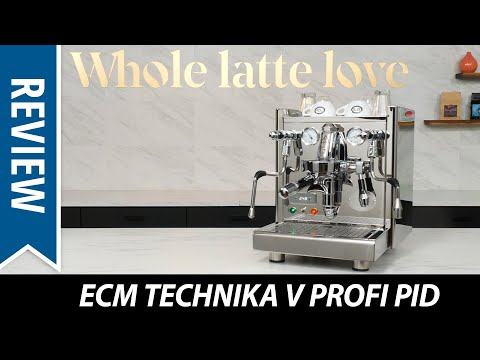 Review: ECM Technika V Profi PID Espresso Machine