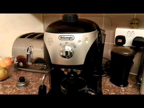 Delonghi ecc221 espresso coffee maker review