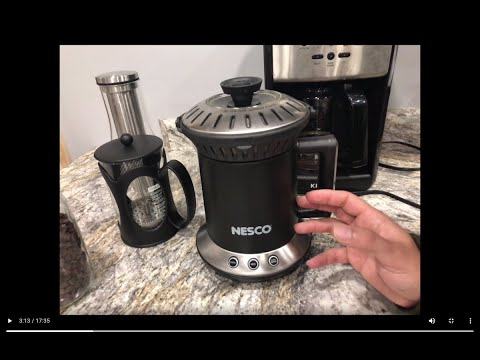 A Roaster for Everyone??? Nesco Coffee Bean Roaster Full Review