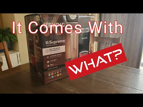 Unboxing The New Keurig K-Supreme