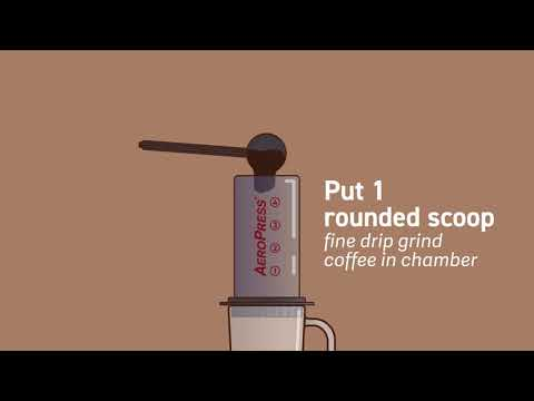 AeroPress Coffee Maker Official Demo