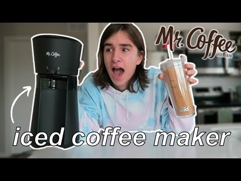 Mr. Coffee Iced Coffee Maker Review!
