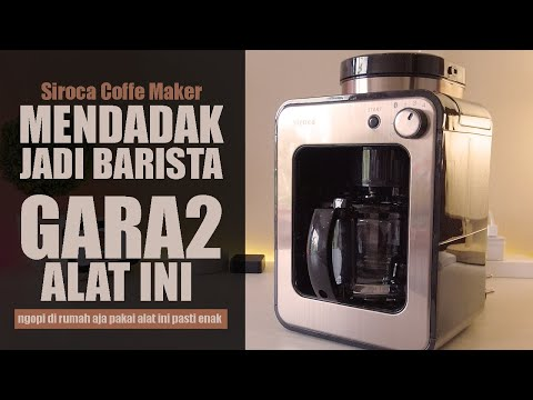 Mesin Kopi Otomatis With Grinder Free Milk Foamer – Siroca Coffee Maker