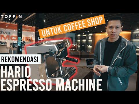 REVIEW HARIO ESPRESSO MACHINE : MESIN KOPI ASAL JEPANG UNTUK BISNIS KOPI SUSU