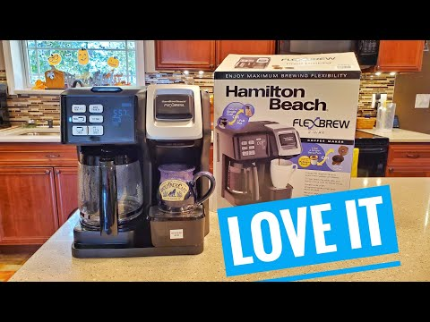 DETAILED Review Hamilton Beach FlexBrew Coffee Maker & Single Serve K-Cup Pods 49976