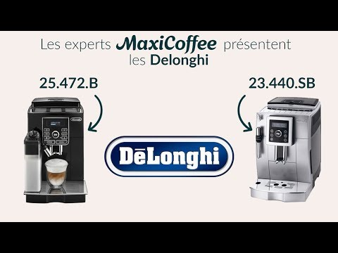 Delonghi 23.440.SB et Delonghi 25.472.B | Machine à café automatique | Le Test MaxiCoffee