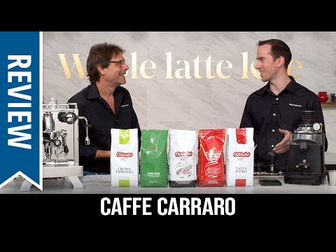 Review and Taste Test: Caffe Carraro Whole Bean Coffee