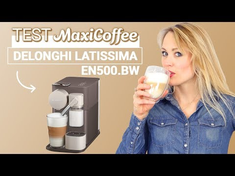 DELONGHI LATISSIMA EN500 BW  | Machine à capsule | Le Test MaxiCoffee
