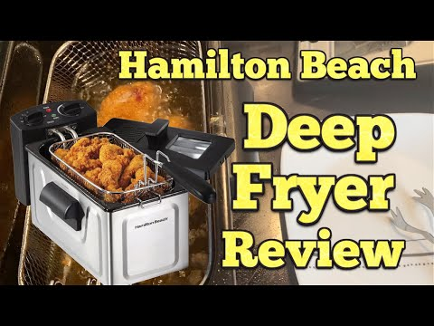 Hamilton Beach Deep Fryer Full Review – Cooking Chicken & Fries