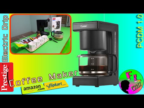 Prestige Electric Drip Coffee Maker REVIEW & DEMO | FIRST LOOK