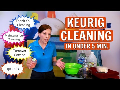 Maintenance Cleaning – How to Clean a Keurig Coffee Maker in Less than 5 Minutes