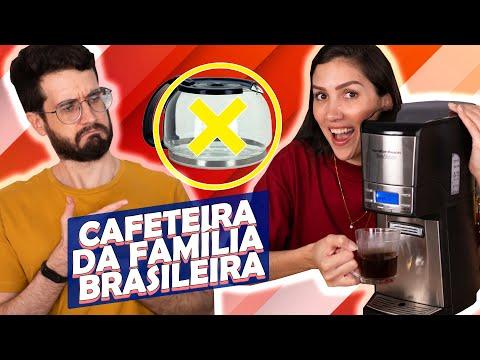 RESENHANDO a CAFETEIRA SEM JARRA | HAMILTON BEACH BREWSTATION