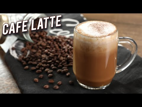 How To Make Cafe Latte | Homemade Latte Without Machine | Instant Coffee Latte Recipe By Varun