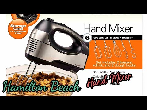 HAMILTON BEACH 6 SPEED HAND MIXER | UNBOXING