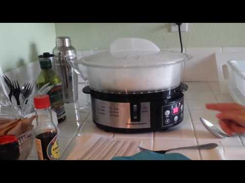 Hamilton Beach Digital Steamer –  How To Use