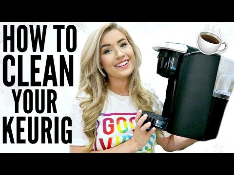 EASY! HOW TO CLEAN YOUR KEURIG COFFEE MAKER | CLEAN WITH ME | Love Meg