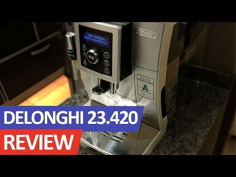 Análisis cafetera automática DeLonghi ECAM 23.420