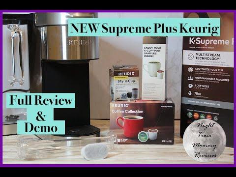 NEW 2020 Keurig Supreme Plus – Full Review and Demo
