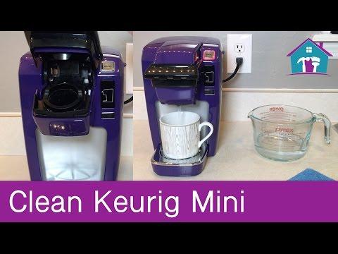 How to Clean Keurig Mini