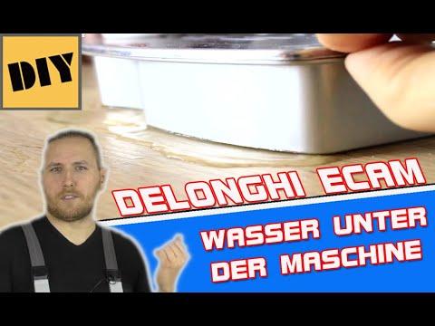 NOTLÖSUNG ! Delonghi Ecam Magnifica S Wasser läuft aus/Wasseraustritt/undicht Kaffeevollautomat