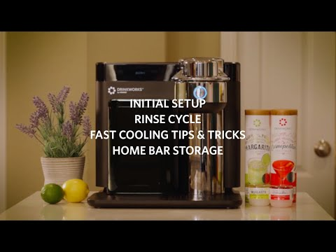 Unboxing and Setting Up Your Drinkworks® Home Bar by Keurig
