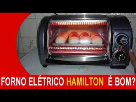 FORNO ELÉTRICO HAMILTON BEACH  É BOM? ( RESENHA )
