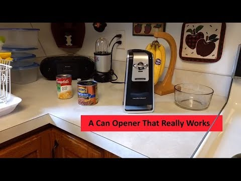 Hamilton Beach Smooth Touch Can Opener # 76607