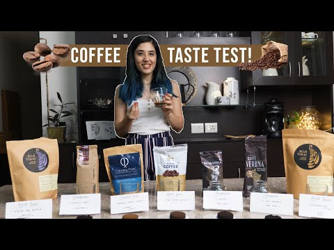 I tried diff Types of Coffees in India | I'm a coffee nerd now! Review by Tanya Khanijow