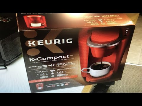 Keurig K-Compact – Unboxing and demo