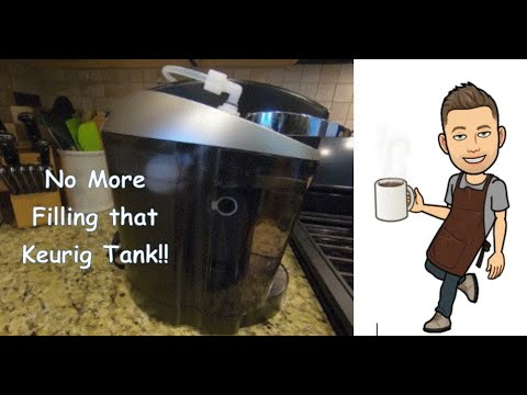 Keurig Coffee Maker water line connection – Never fill the water tank again