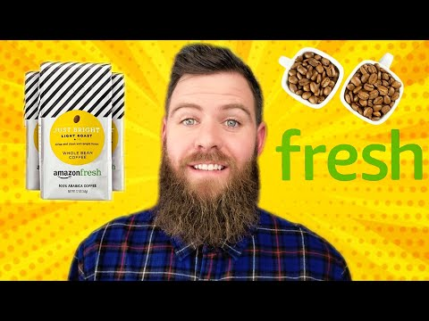 A Coffee Review ☕ Amazon Fresh Just Bright Whole Bean Coffee 2020 Review #05