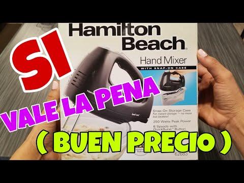 BATIDORA DE MANO/BATIDORA DE MANO HAMILTON BEACH/REVIEW BATIDORA DE MANO HAMILTON beach hand mixed